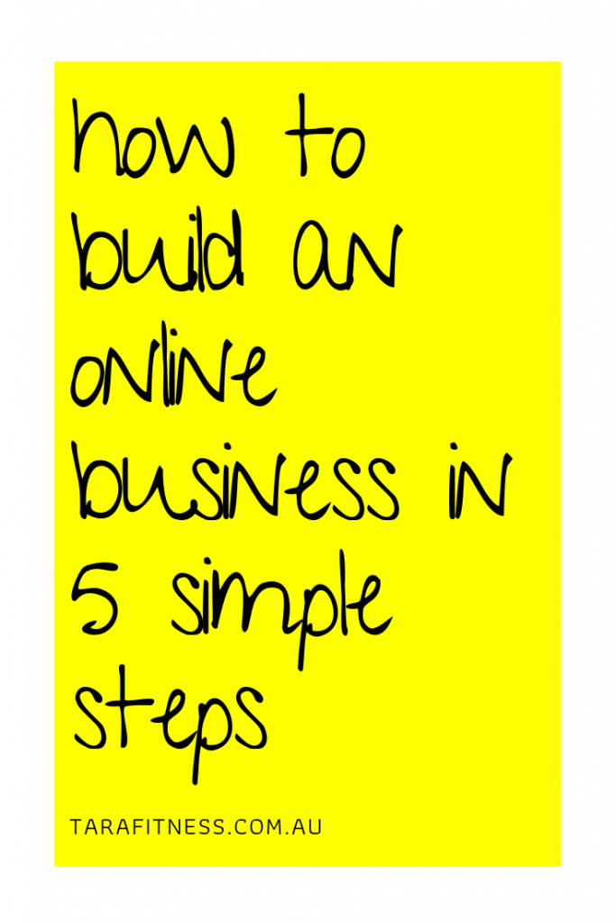 Many entrepreneurs (myself included first time around) start building the buisness at step 5, completely skipping steps 1-4, then wondering why it didn't work. Follow my 5 steps to build a business and avoid repeating those mistakes.